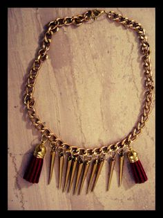 handmade necklace. ..
