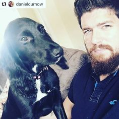 Thanks @danielcurnow 😁👌 He will not leave me alone now I said the dreaded word 'walk' 😂 Bane you monkey! Beard is on point thanks too @sweynforkbeard and their organic beard products! #puppy #walk #dog #doggy #doglover #workingcockerspaniel #working #cocker #spaniel #beard #beards #bearded #beardedlife #beardstyle #beardandbeast #filter #handsome #sweynforkbeard #grooming #britishgentleman #vikings  #beardedmodel #hot #malegrooming #mensgrooming #bestoftheday #ootd