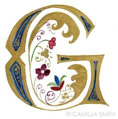 illuminated letter G - Google Search
