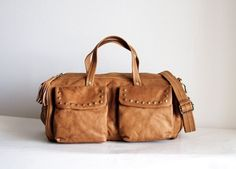 The Barrel Bag with studs: Morelle fantastic bag/I have this one and it is so supple, lovely and delicious!