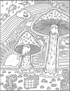 http://www.bing.com/images/search?q=Trippy Mushroom Coloring Pages