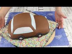 🚗Tort samochodzik dla chłopca, krok po kroku 🚗 - YouTube Cake Decorating Tutorials, Youtube, Make It Yourself, Youtubers, Youtube Movies