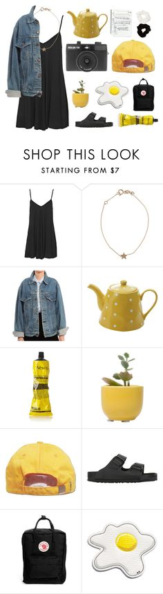 """//that's good//"" by little-miss-marie ❤ liked on Polyvore featuring Boohoo, Kismet, Levi's, Fitz and Floyd, Aesop, Dot & Bo, Birkenstock, Fjällräven, Anya Hindmarch and Holga"
