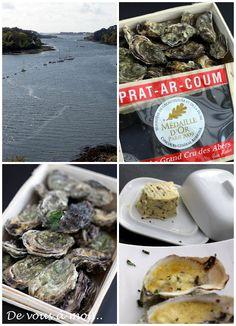 De vous à moi...: Huitres Chaudes au Beurre d'Algues  Finistère Bretagne