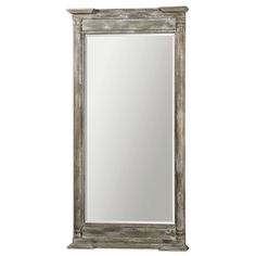 Valcellina Wood Leaner Mirror #07652 Size: 38W x 74H