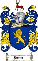 $8.99 Evans Family Crest / Evans Coat of Arms - Download Family Crests