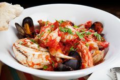 Lobster and fish stew