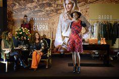 3ª noite do Barra Fashion Day (22/04), com apresentação de Paula Magalhães e presença de Tininha Viana. O tema da vez foi o militarismo e o novo tricô. #Moda #Tricô #Tricot #Outono #Inverno #Winter #Fashion #BarraFashionDay