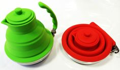 Collapsible Folding Kettle Silicone Gas Stove Hob Kitchen Camping   eBay