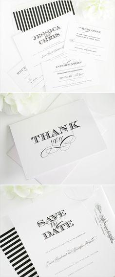Ornate elegance wedding invitations. #wedding #stripes #stationery #invitations Shop: Shine Wedding Invitations ---> http://www.shineweddinginvitations.com/wedding-invitations/ornate-elegance-wedding-invitations