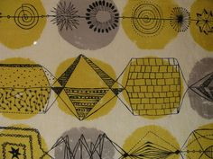 Lucienne Day Fabric