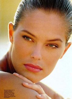 Danish former supermodel Renée Toft Simonsen (b.1965).