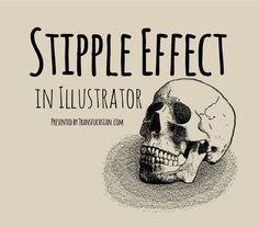 Stipple effect in illustrator