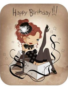 "Birthday Quotes : Jessica Secheret carte postale ""Happy Birthday"" - The Love Quotes Happy Birthday Pictures, Happy Birthday Funny, Happy Birthday Messages, Happy Birthday Quotes, Happy Birthday Greetings, Happy Bday Wishes, Birthday Posts, Birthday Ideas, Happy B Day"