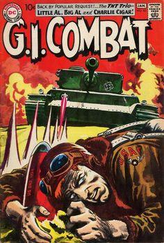 Seller of bronze and silver age Marvel DC comics War Comics, Marvel Dc Comics, Comic Book Covers, Comic Books Art, Book Art, Combat Bats, Western Comics, Comics Story, Adventure Movies
