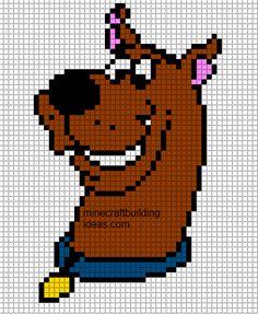 Scooby-Doo Minecraft template