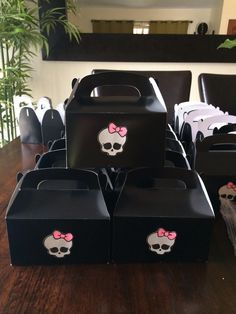 Monster High party favor box