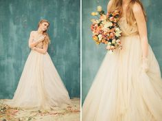flowers    Romantic Bridals with a Samuelle Couture Dress
