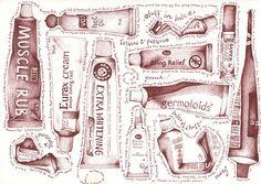 well i wonder by andrea joseph's illustrations, via Flickr