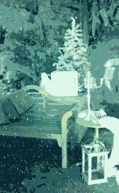 Giardino d'Inverno • #Natale #ArredoNatalizio #DecorazioniNatale #Oltreilgiardino www.oltreilgiardino.biz