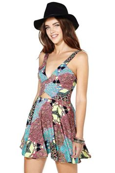 Nasty Gal It's a Trip Dress