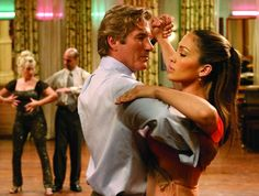 Romance movies for grownups:     Shall We Dance ﴾2004﴿:   A remake of the award‐winning 1996 Japanese film of the same name, this stars Richard Gere, Jennifer Lopez and Susan Sarandon. Gere plays John Clark, a lawyer with a charming wife and family, who signs up for ballroom‐dancing lessons where he bonds with a beautiful instructor ﴾Lopez﴿