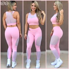 Gym Leggings, Girls In Leggings, Sports Leggings, Leggings Are Not Pants, Looks Academia, Stylish Outfits, Cute Outfits, Spandex Pants, Workout Wear