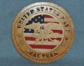 US Navy Seal Team Plaque.  I love a Navy Seal!