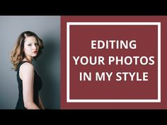 Thanks so much for sending me your photos - watch me edit them live in this video! I used the preset 400H+1 for every photo in this set, both raw and JPEG. C...