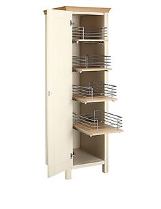 Padstow Pull Out Larder Unit Cream