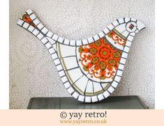 140: Orange Meakin Madrid Bird (£26.00)