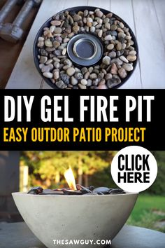 In just 8 simple steps you can make an awesome DIY concrete fire pit on a lazy afternoon! Seriously, this is about as easy as it gets. Gel Fireplace, Outdoor Cooler, Terrace Decor, Fire Pit Materials, Concrete Fire Pits, Interior Decorating Tips, Diy Fire Pit, Cool Diy Projects, Patio