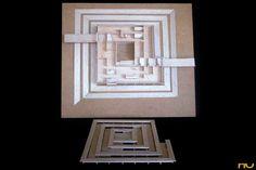 Mundaneum_Museo Ilimitado_1929_Le corbusier Le Corbusier, Tokyo Museum, Concept Architecture, Frame, Model, Home Decor, Museums, Picture Frame, Decoration Home