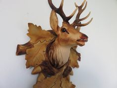 great deer hunting trophy head plastic mid by intemporeldesign