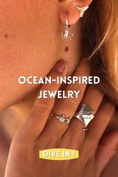 Ocean Jewelry, Diamond Earrings, Tattoos, Stickers, Friends, Storage, Amigos, Tatuajes, Tattoo