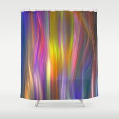 Buy Shower Curtains featuring Color streams by thea walstra. Made from 100% easy care polyester our designer shower curtains are printed in the USA and feature a 12 button-hole top for simple hanging.