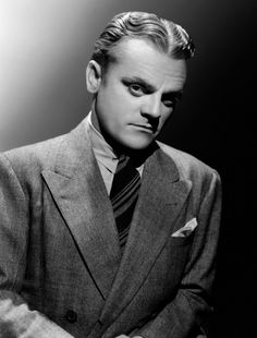 James Cagney, not your usual beautiful person but what an actor
