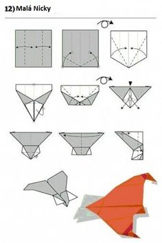 How To: Fold 12 Awesome Paper Planes 12 guide Build Paper Airplanes – Origami Paper Airplane Steps, Airplane Crafts, Airplane Activities, Airplane Kids, Best Paper Plane, Origami Paper Plane, Origami Airplane, Origami Owl, Papier Diy