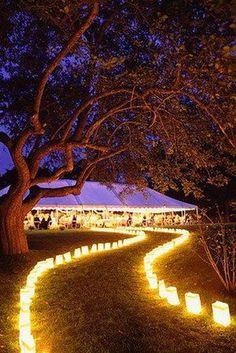 wedding lantern lighting ideas