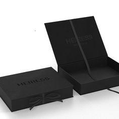 Black Packaging, Gift Box Packaging, Luxury Packaging, Ecommerce Packaging, Custom Packaging Boxes, Packaging Ideas, Clothing Packaging, Fashion Packaging, Jewelry Packaging