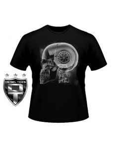 Get this and tons of other Apparel for Truck & Diesel Enthusiasts at www.DieselTees.com    http://www.dieseltees.com/432-thickbox_default/turbo-skull-x-ray-t-shirt.jpg
