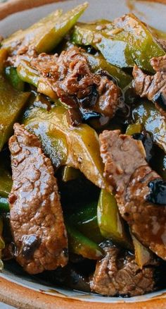 Beef with Bitter Melon - The Woks of Life