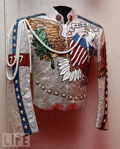 Michael Jackson's jacket for what more can I give