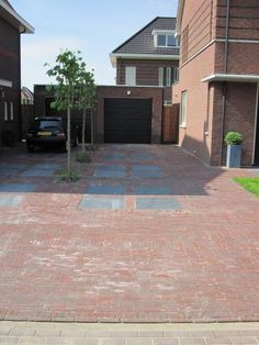Waaltjes patronen Outdoor Lounge, Outdoor Rooms, Outdoor Living, Outdoor Decor, Brick Design, Outdoor Flooring, Pavement, My Dream Home, Garden Design