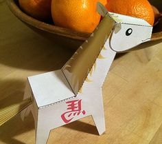 Year of the Horse Paper Toy: Free Printables for the Chinese New Year | Disney Baby