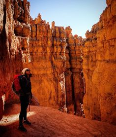 Hiking in Bryce Canyon.  Photo from @ hiking_buns Instagram