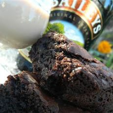 Bailey's Irish Cream Brownies Recipe....I used 1/2cup Bailey's Mint Cream and 1/2cup Rumchata(generic version) in brownies. And in frosting substituted one the tablespoons of Bailey's with a tablespoon of Chocolate Cake Vodka....WONDERFUL.    have fun, play around with flavors!!