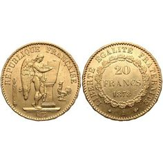 Another French 20 Franc Gold Coin  #Gold  #401K #IRA #Investing #Bullion #regal_assets_review #Regal_Assets