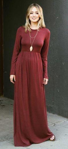 c8074b1bf979 24 Top Winter Maxi Dresses images
