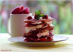 Very Berry Strawberry Dessert by theresahelmer.deviantart.com on @deviantART